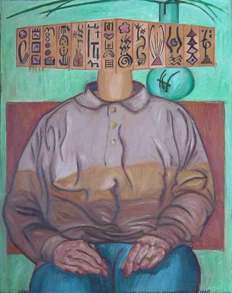 Gerald Shepherd - June Shepherd Hammerhead Portrait