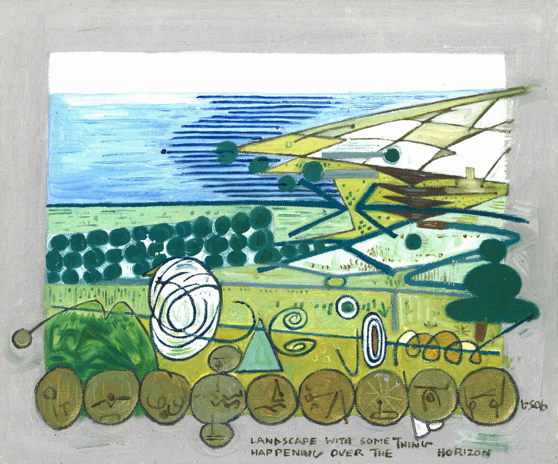 Gerald Shepherd - Landscape With Something Happening On The Horizon