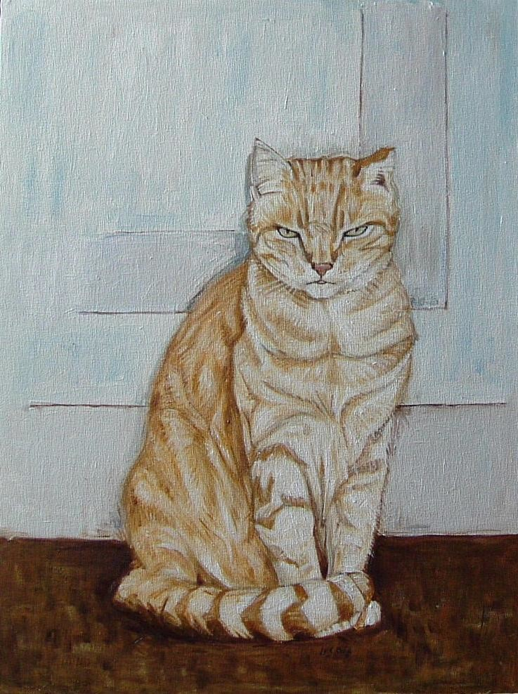 Gerald Shepherd - A Friend's Cat