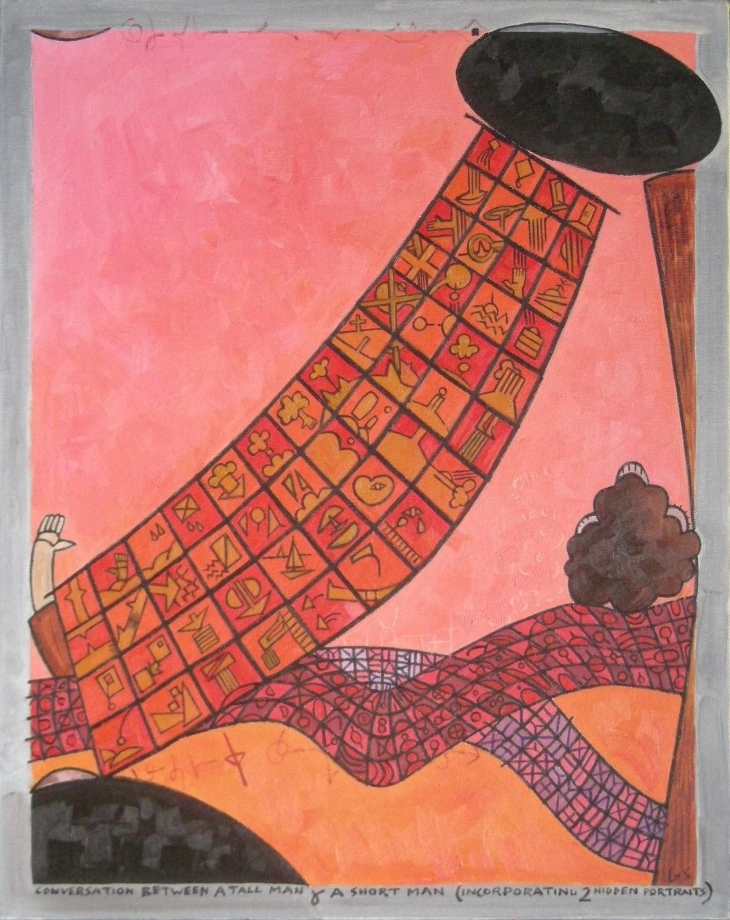 Gerald Shepherd - Conversation Between A Tall Man And A Short Man