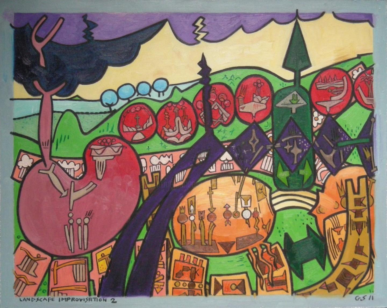 Gerald Shepherd - Landscape Improvisation 2