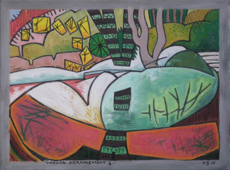 Gerald Shepherd - Garden Arrangement 4