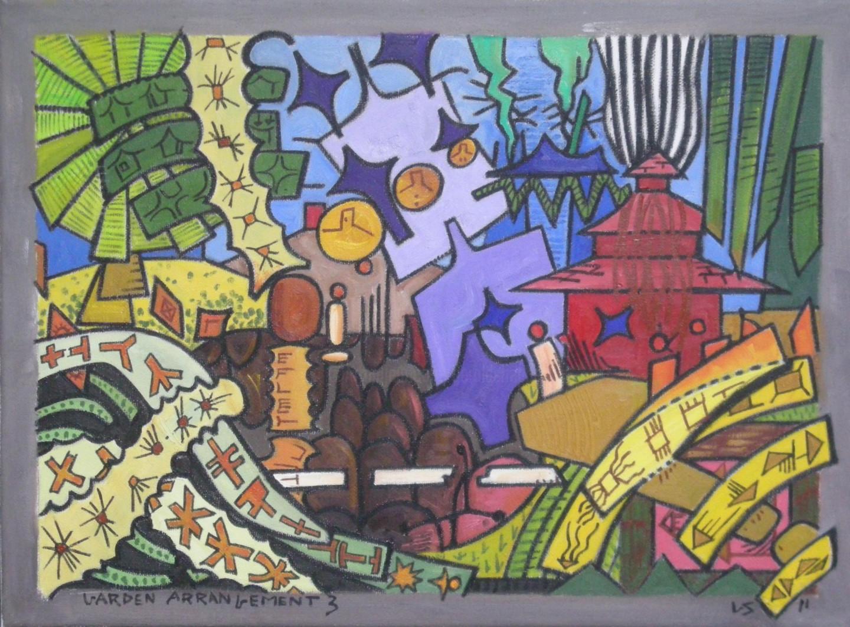 Gerald Shepherd - Garden Arrangement 3