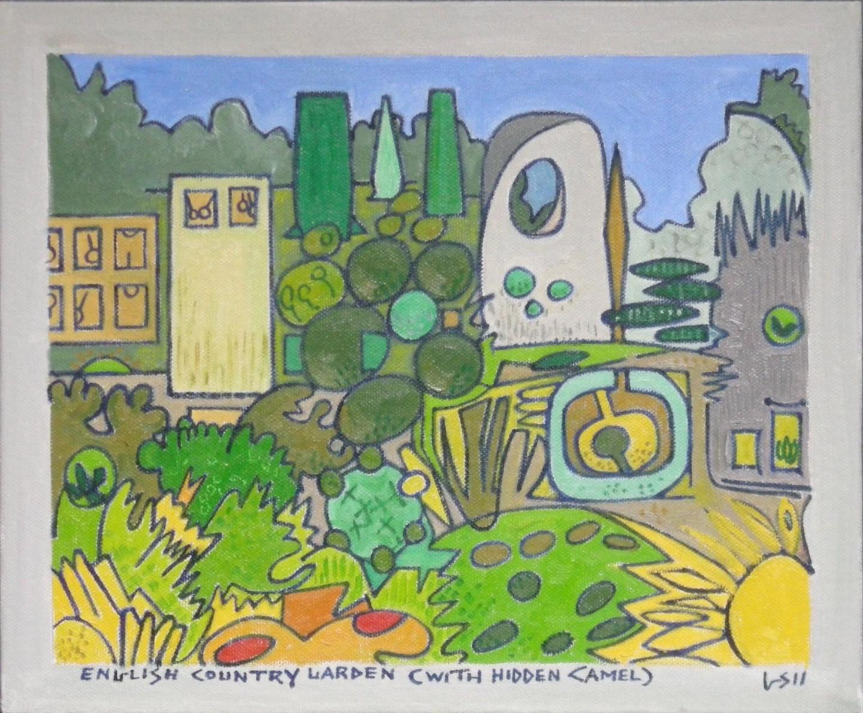 Gerald Shepherd - English Country Garden (With Hidden Camel)
