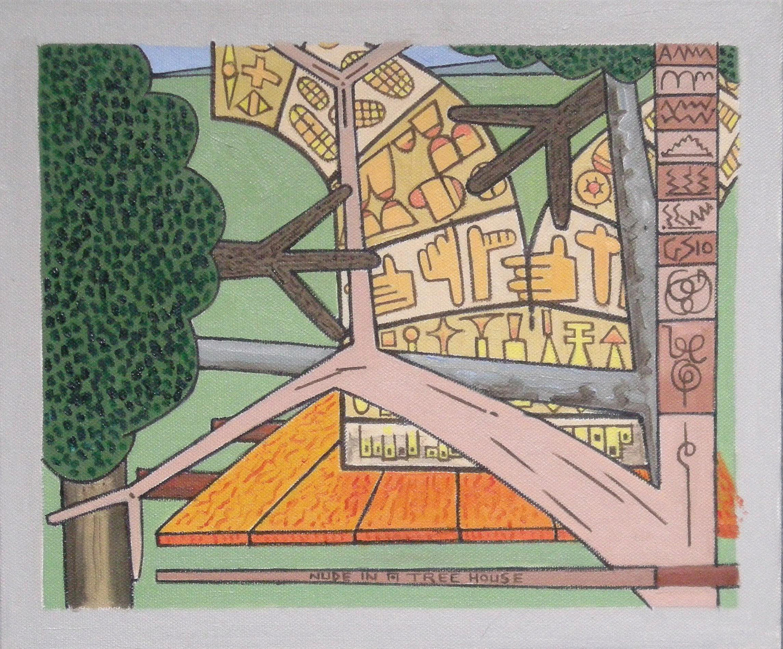 Gerald Shepherd - Nude In A Tree House