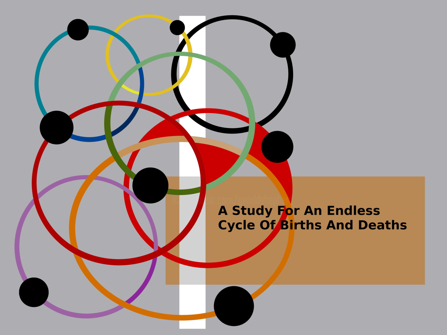 Gerald Shepherd - A Study For An Endless Cycle Of Births And Deaths