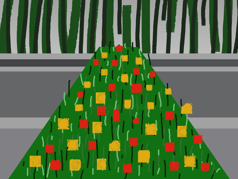 Gerald Shepherd - Flowers By A River