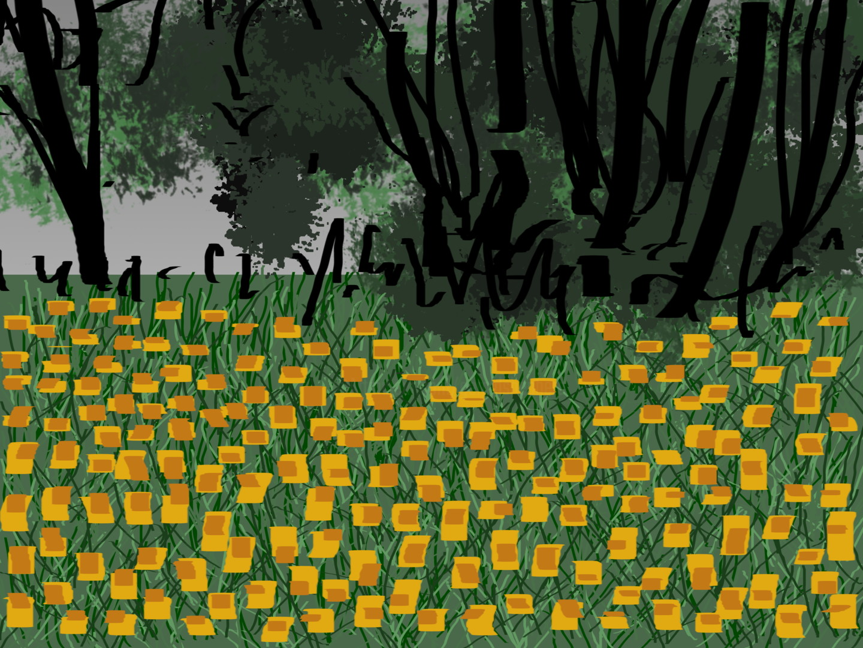 Gerald Shepherd - Daffodils