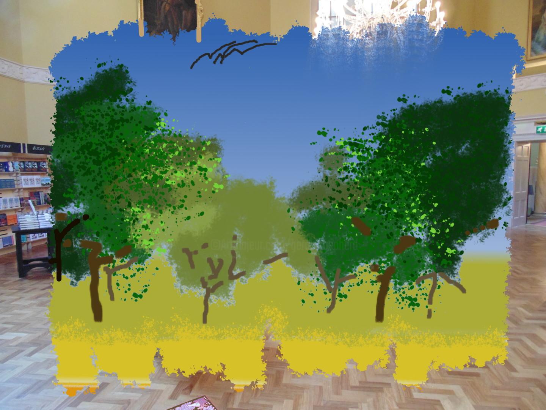 Gerald Shepherd - Landscape In A Room