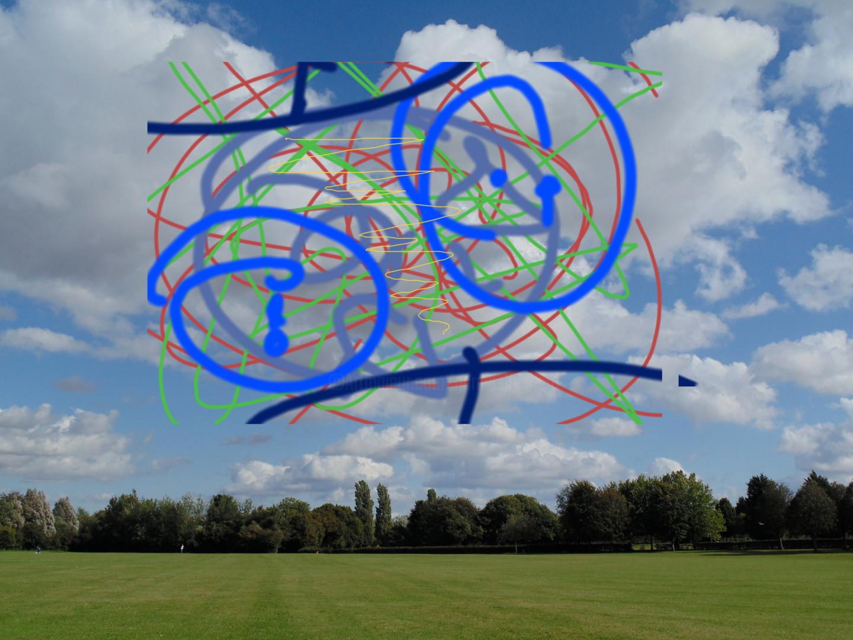 Gerald Shepherd - Sky Painting