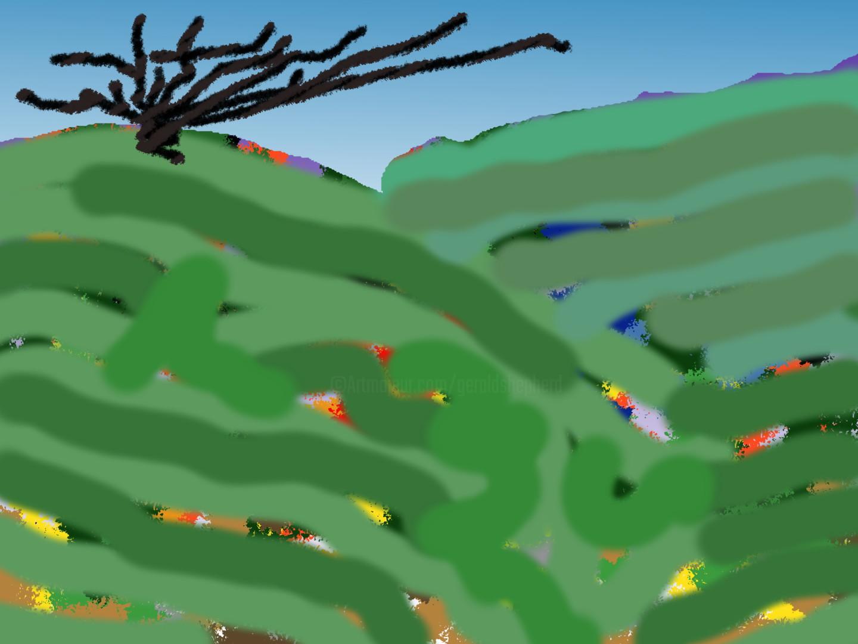 Gerald Shepherd - Dead Tree On A Hill Top