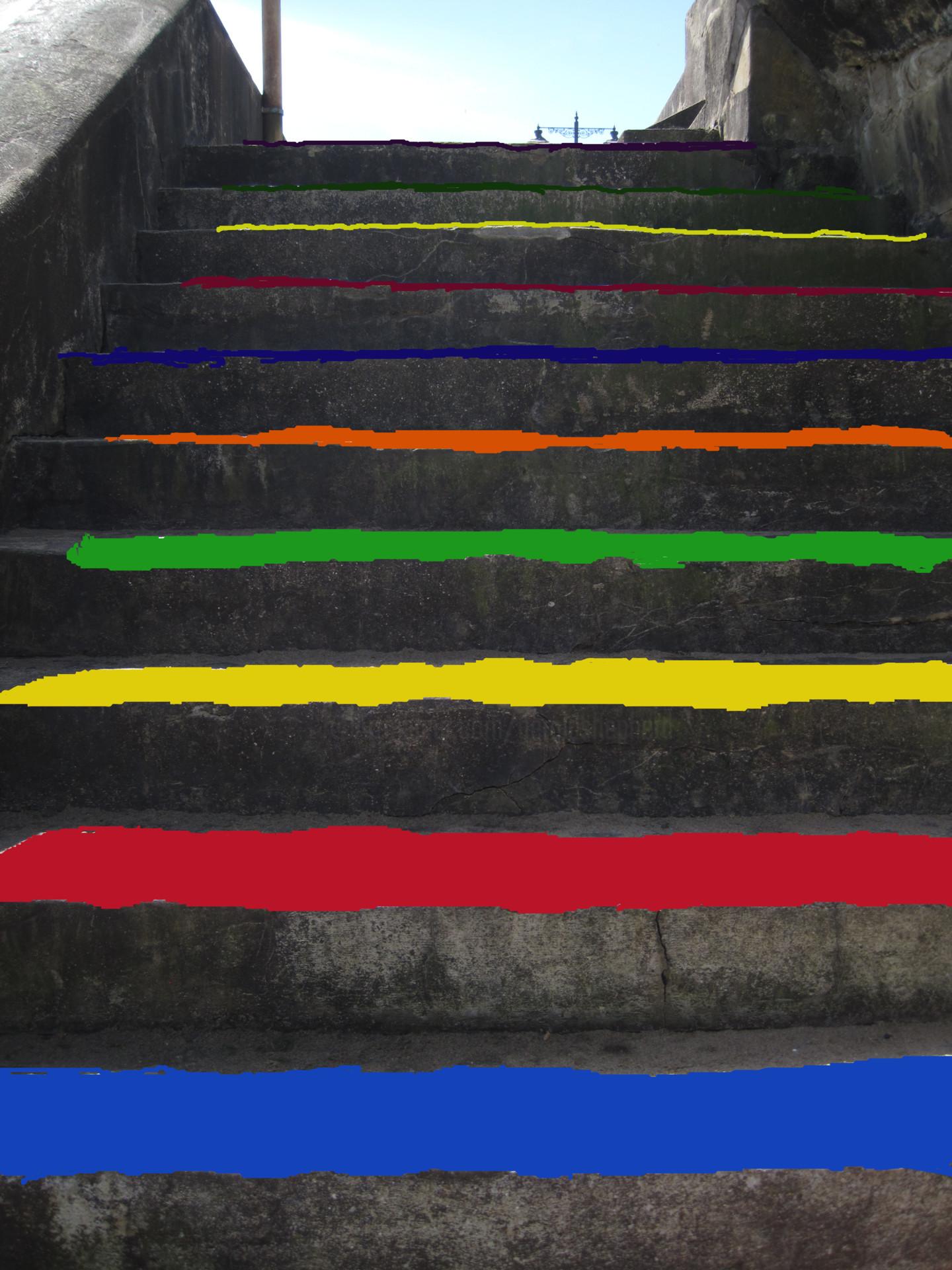 Gerald Shepherd - Emblazoned Steps