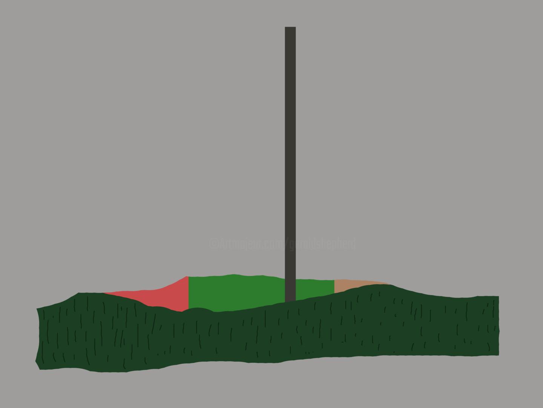 Gerald Shepherd - Pole In A Landscape