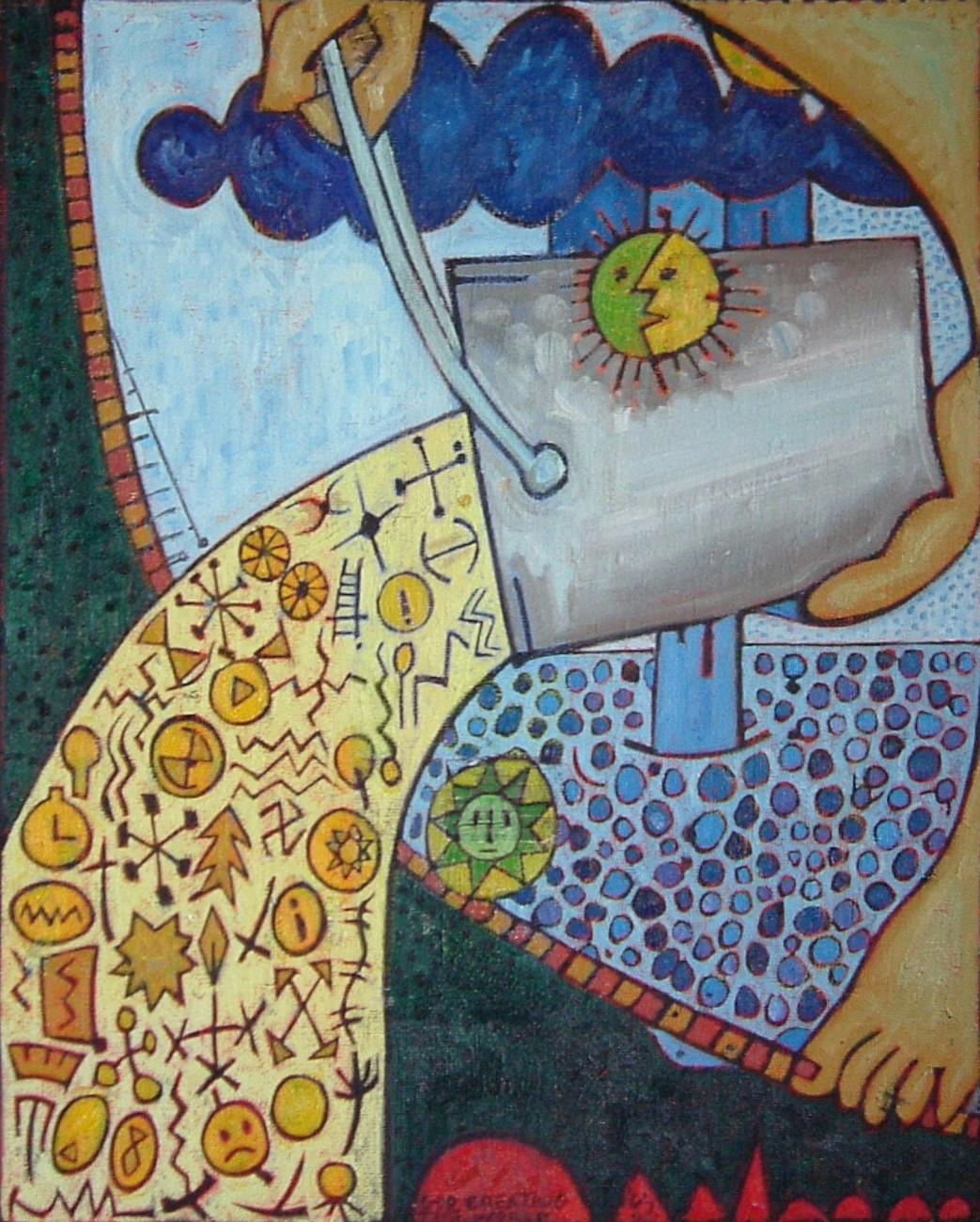 Gerald Shepherd - A God Creating The World