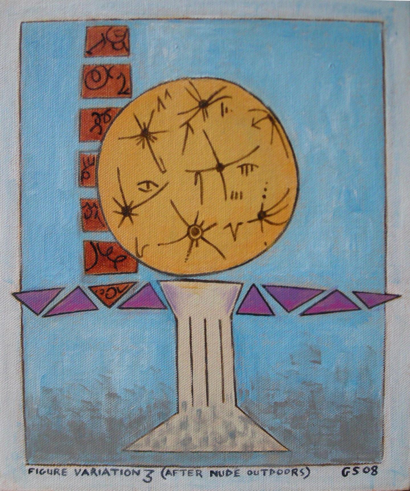 Gerald Shepherd - Figure Variation 3