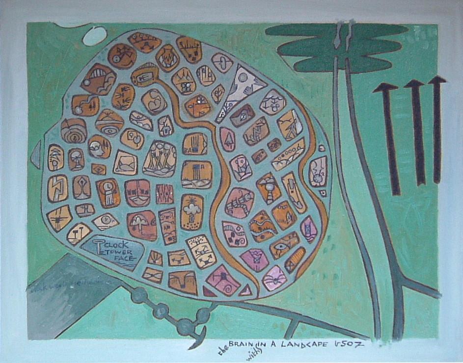Gerald Shepherd - Brain In A Landscape