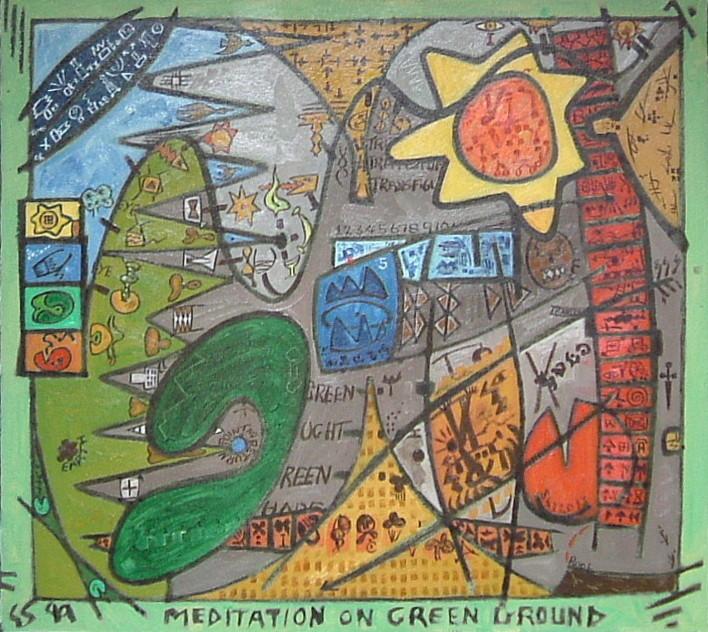 Gerald Shepherd - Meditation On Green Ground
