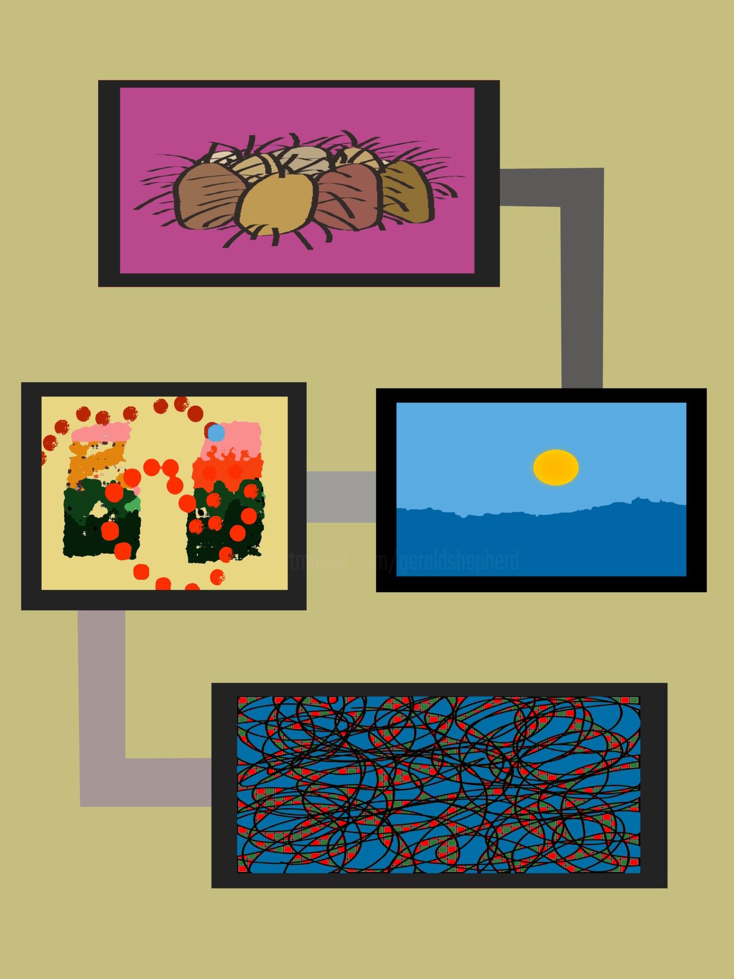 Gerald Shepherd - Paintings That Talk