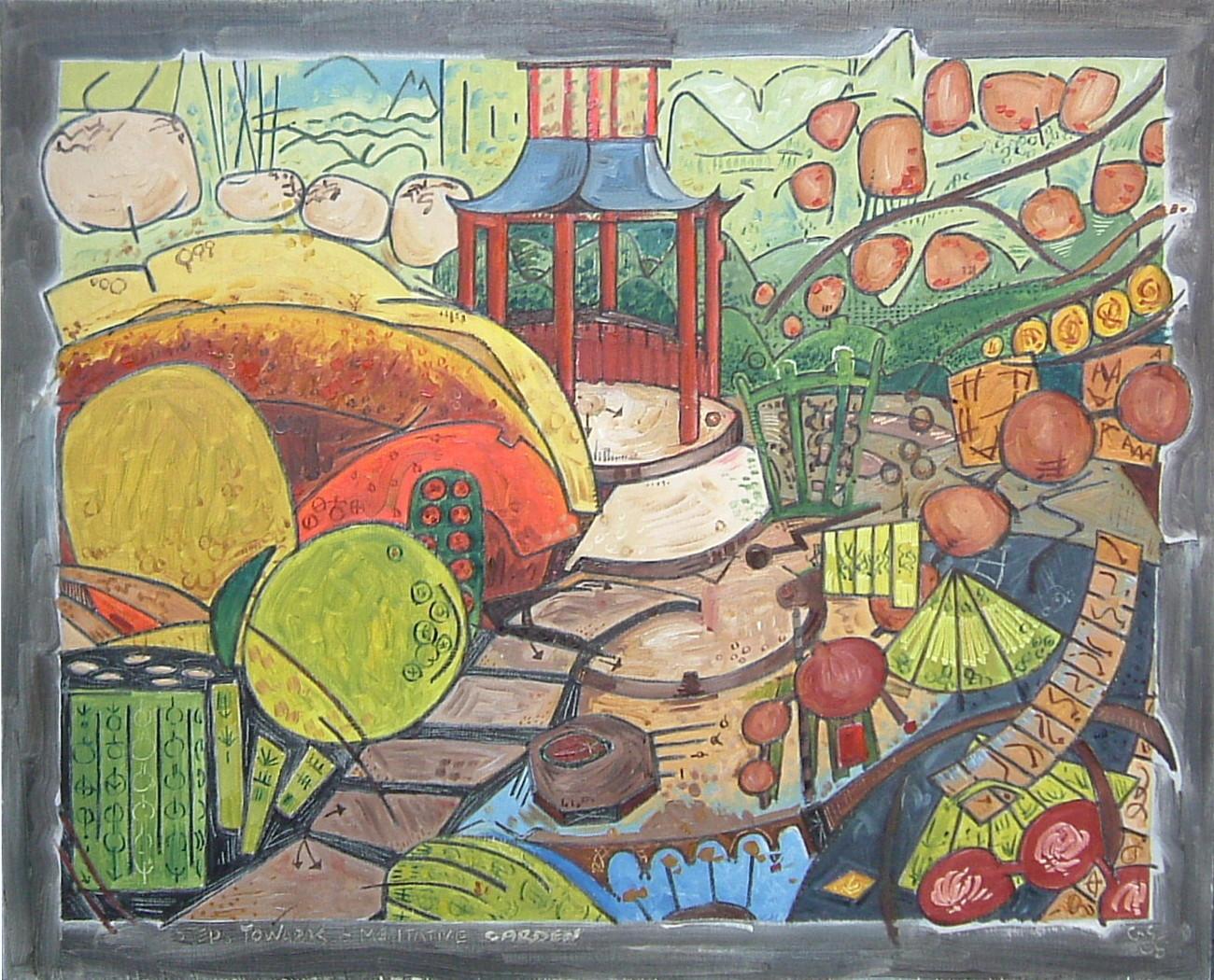 Gerald Shepherd - Steps Towards A Meditative Landscape