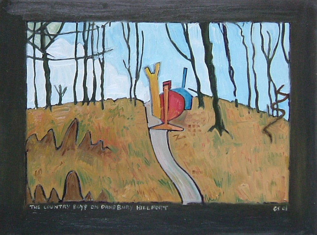 Gerald Shepherd - The Country Boys On Danebury Hill Fort