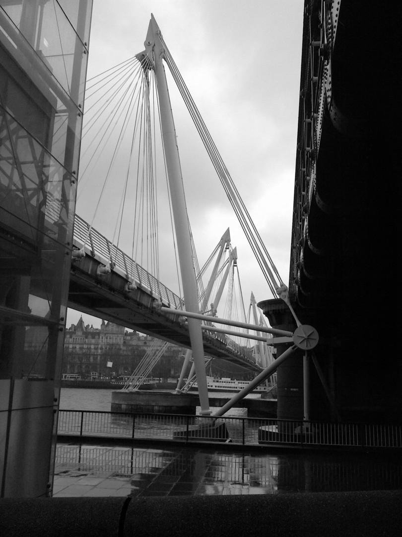 Gerald Shepherd - Wet Day Bridge