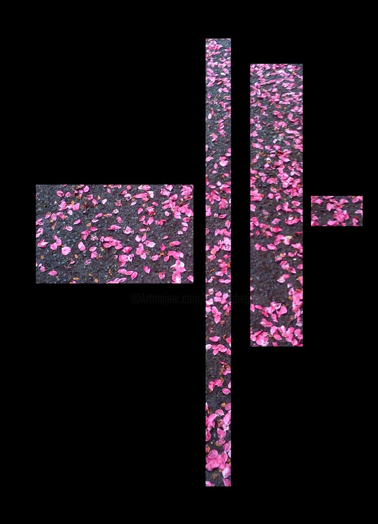 Gerald Shepherd - Pink Petals - Study