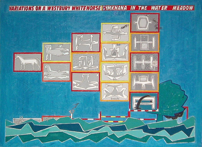 Gerald Shepherd - Variations On A Westbury White Horse