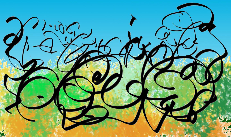 Gerald Shepherd - Calligraphic Landscape