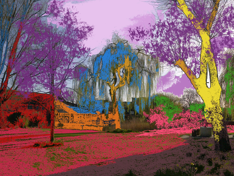 Gerald Shepherd - Landscape Seen With My Eyes Closed