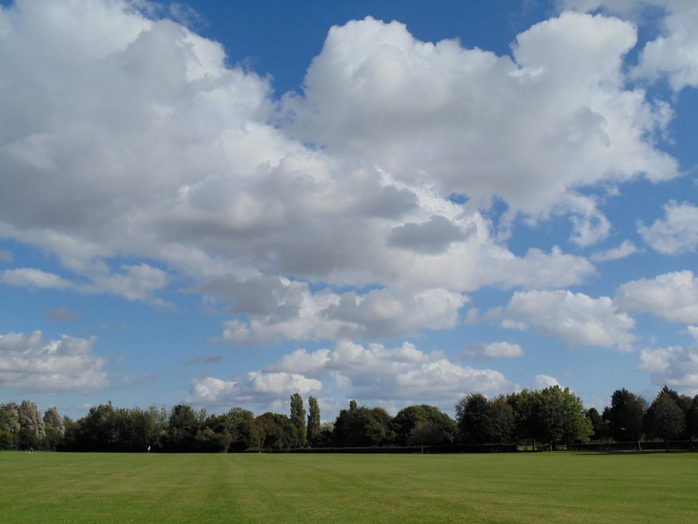 Gerald Shepherd - Cloud Study (Charlton Playing Fields)