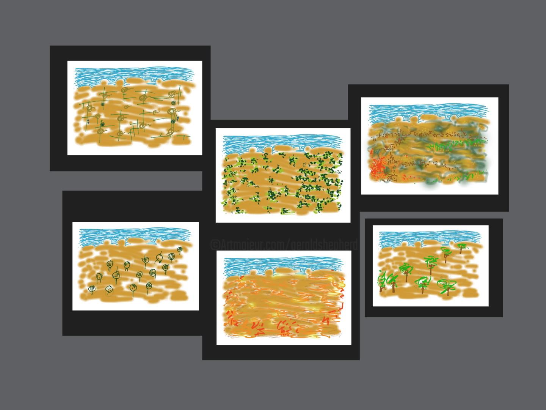 Gerald Shepherd - Assembled Landscapes