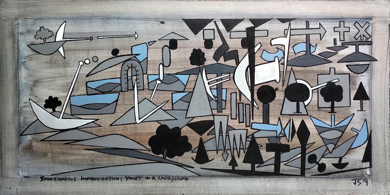 Gerald Shepherd - Spontaneous Improvisation: Yacht In A Landscape