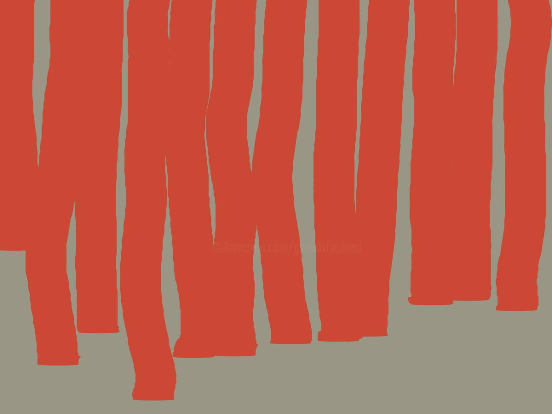 Gerald Shepherd - Descending Red