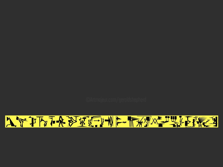 Gerald Shepherd - Black On Yellow Sequence