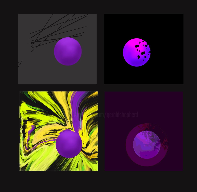 Gerald Shepherd - Four Spheres