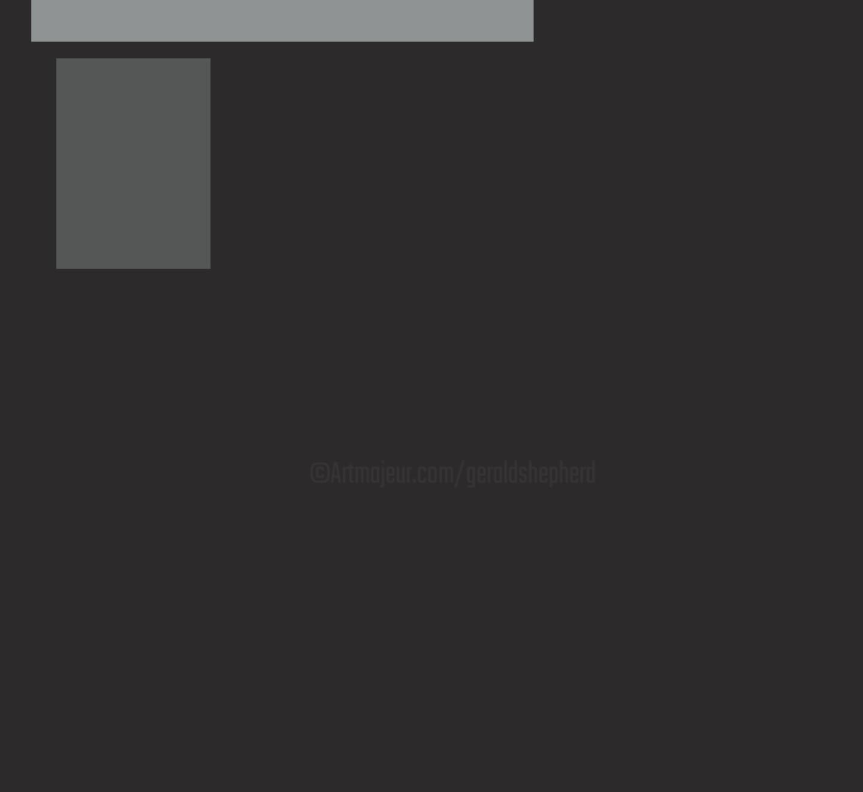 Gerald Shepherd - Two Grey Rectangles