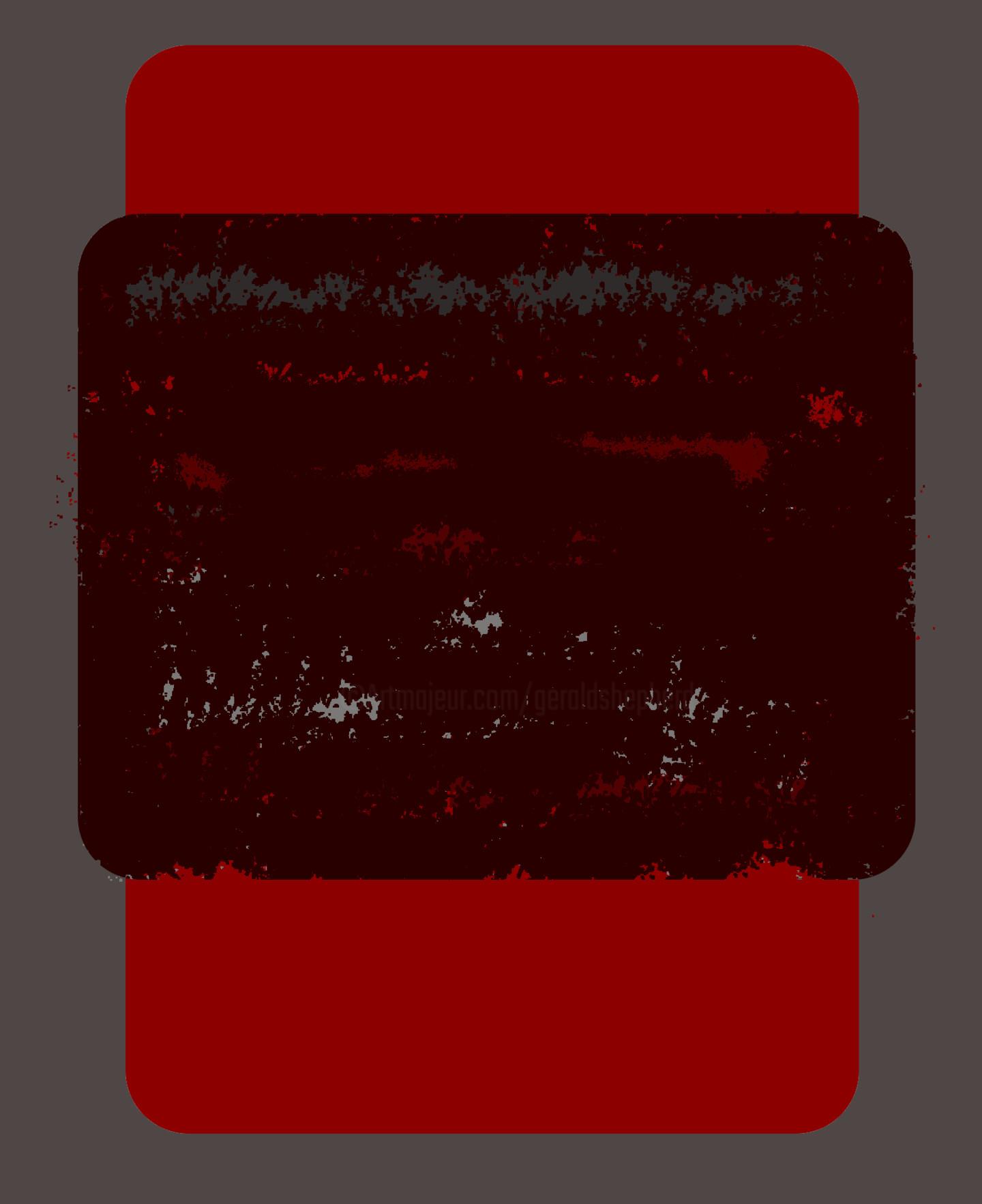 Gerald Shepherd - Abstract Study
