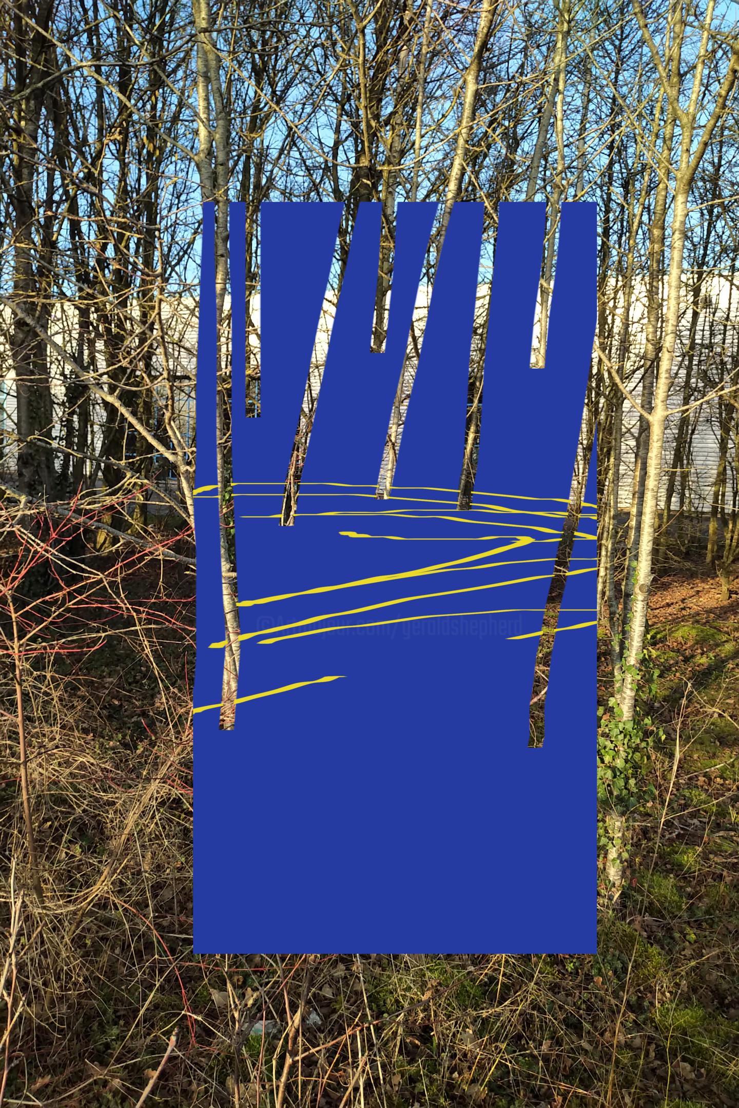 Gerald Shepherd - The Space Between Trees