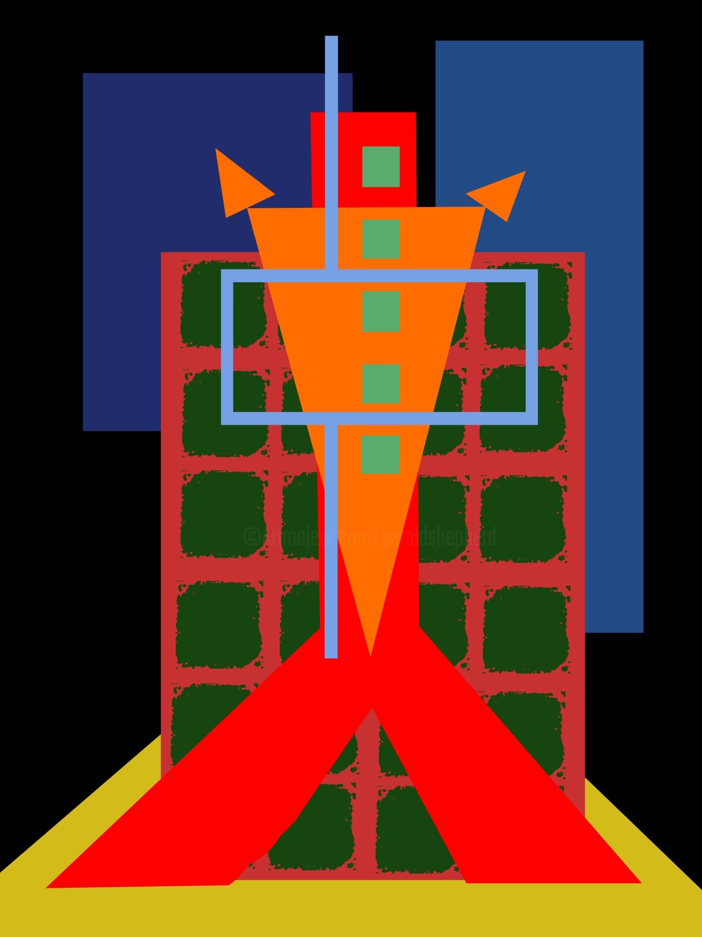 Gerald Shepherd - Figure In An Armchair