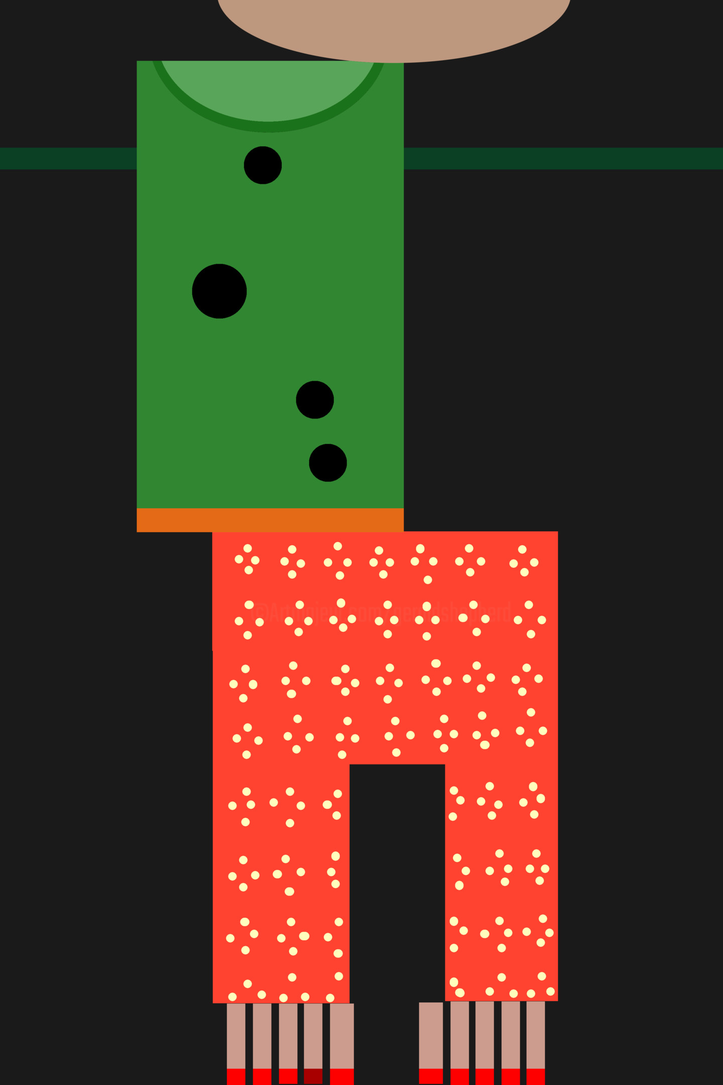 Gerald Shepherd - Girl In A Green Top