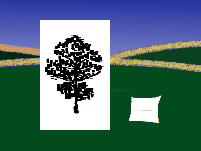 Gerald Shepherd - Tree In A Field