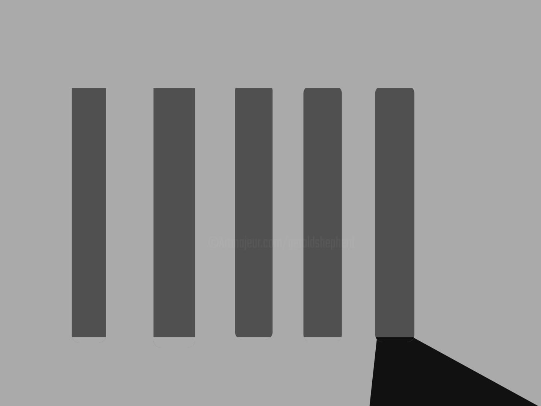 Gerald Shepherd - Five Poles, One Shadow