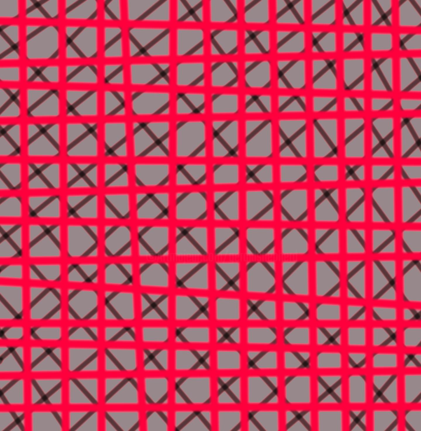 Gerald Shepherd - Red Grid