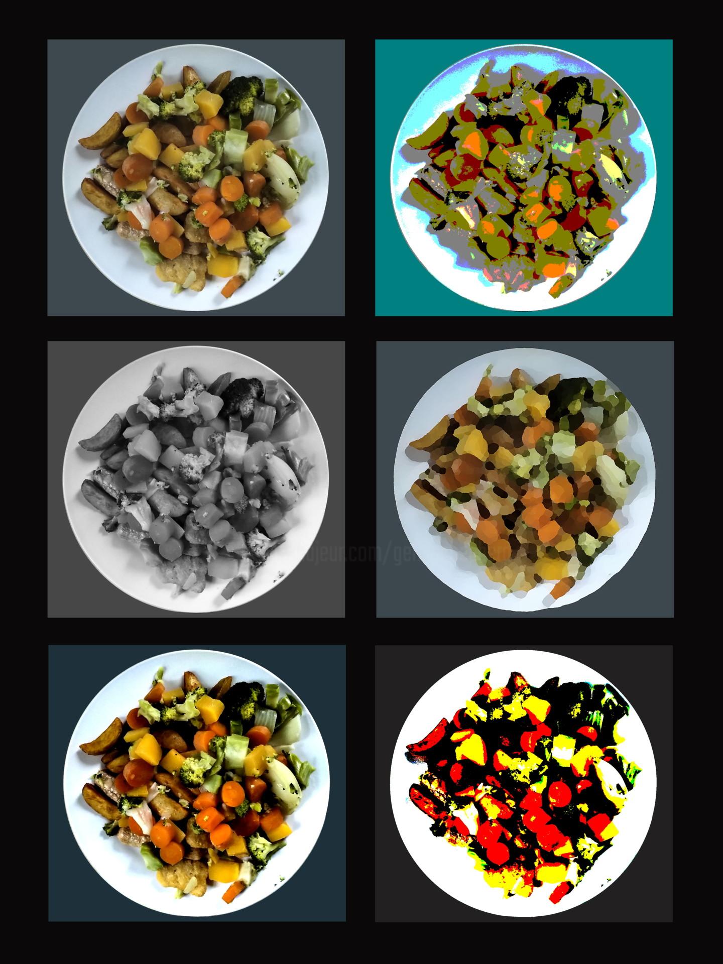 Gerald Shepherd - Dinner Art