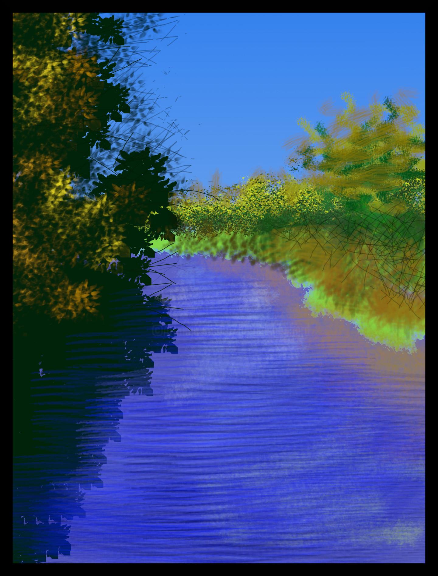 Gerald Shepherd - The River
