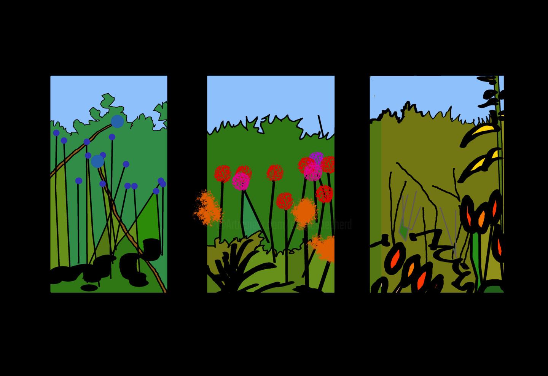 Gerald Shepherd - Garden Sequence