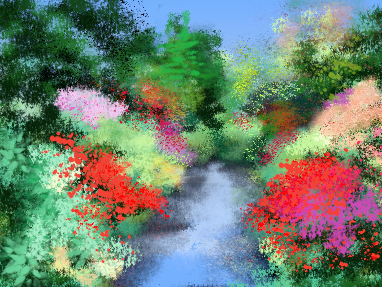 Gerald Shepherd - The Garden Stream