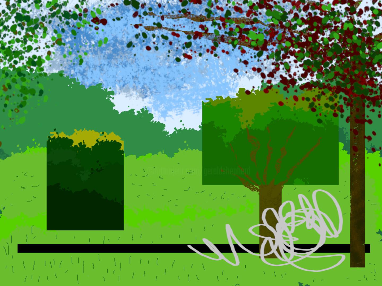 Gerald Shepherd - Line In The Park