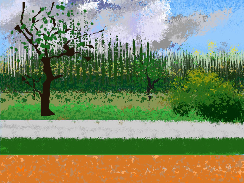 Gerald Shepherd - Horizontals In A Landscape