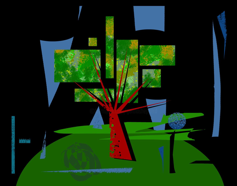 Gerald Shepherd - Tree On A Hill